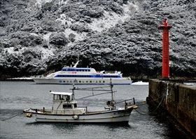 「雪の港」 中山 正寿